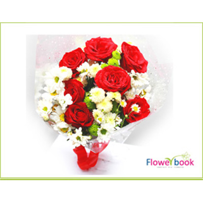 Red Roses Bunch BD005 large 1