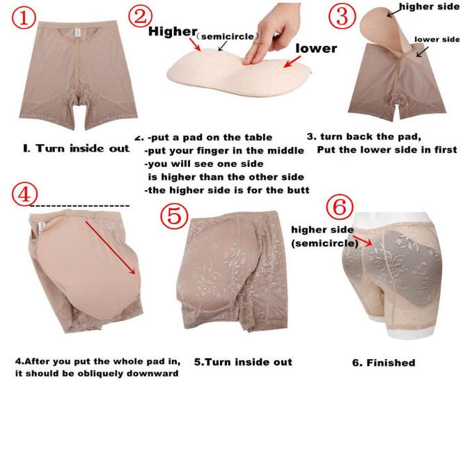 Hip And Back Padded Panty large 3