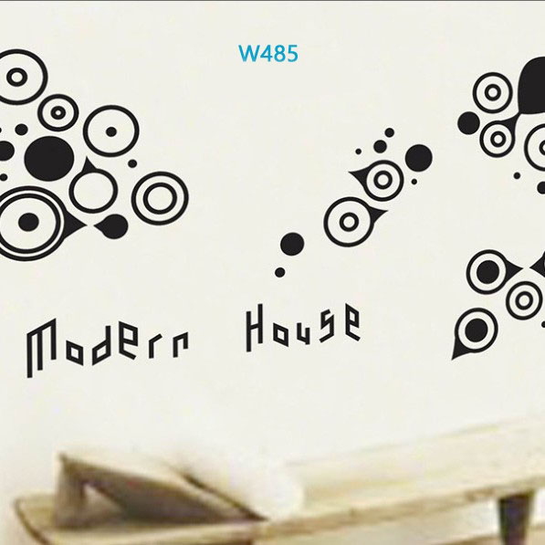 Wall sticker-Modern House large 1