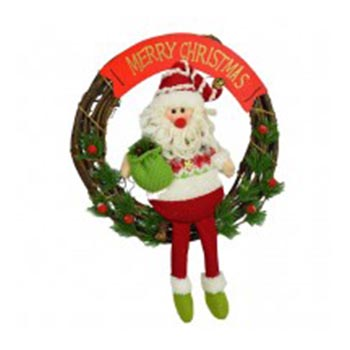 Christmas Wreath 4189A large 1