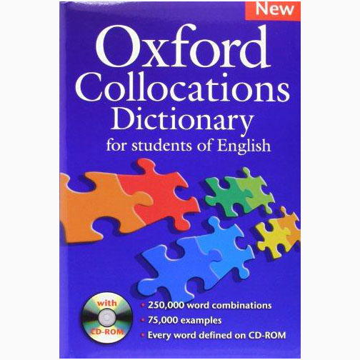 Oxford Collocations Dictionary with CD For Students Of English B031002 large 1
