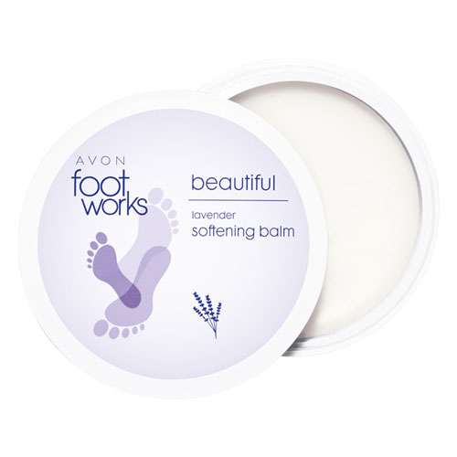 Footworks Beautiful Lavender Softening Balm Avon 190 large 1