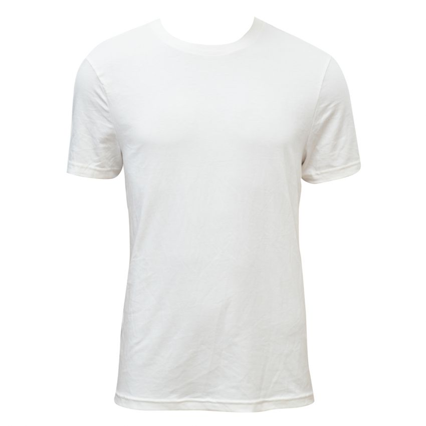 white casual t shirt for men large 1
