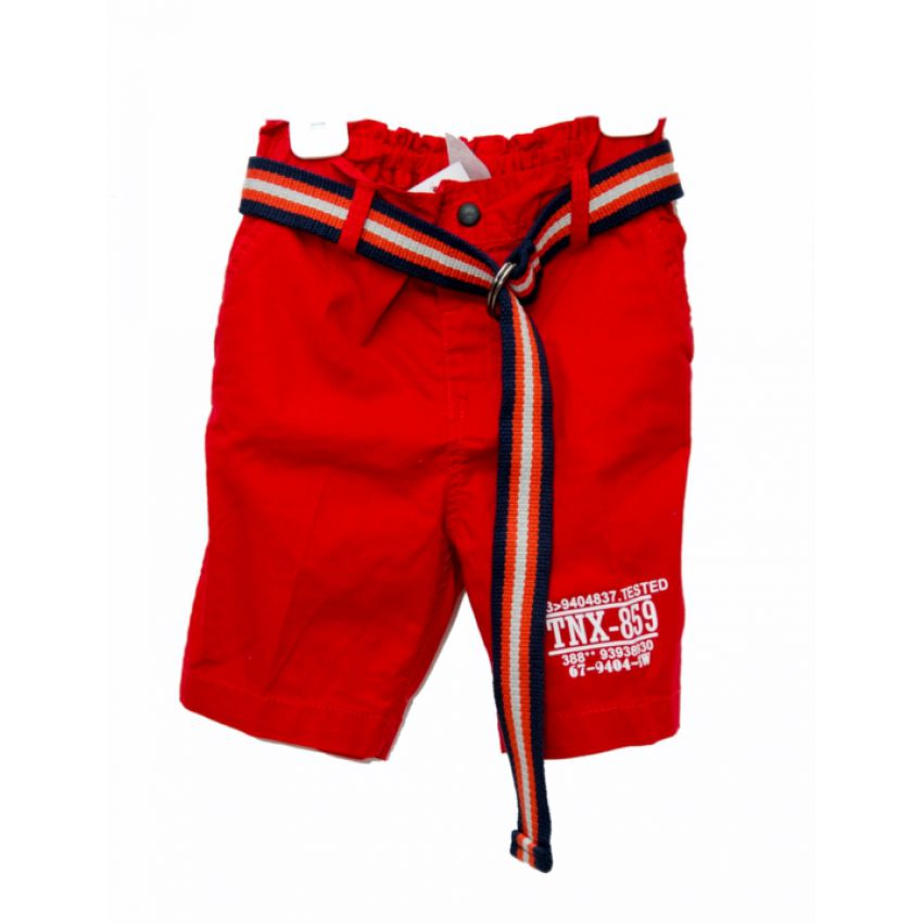 TNX Boys Short Red large 1