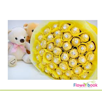 Ferrerocher chocolate with soft toys CHO0011 large 1