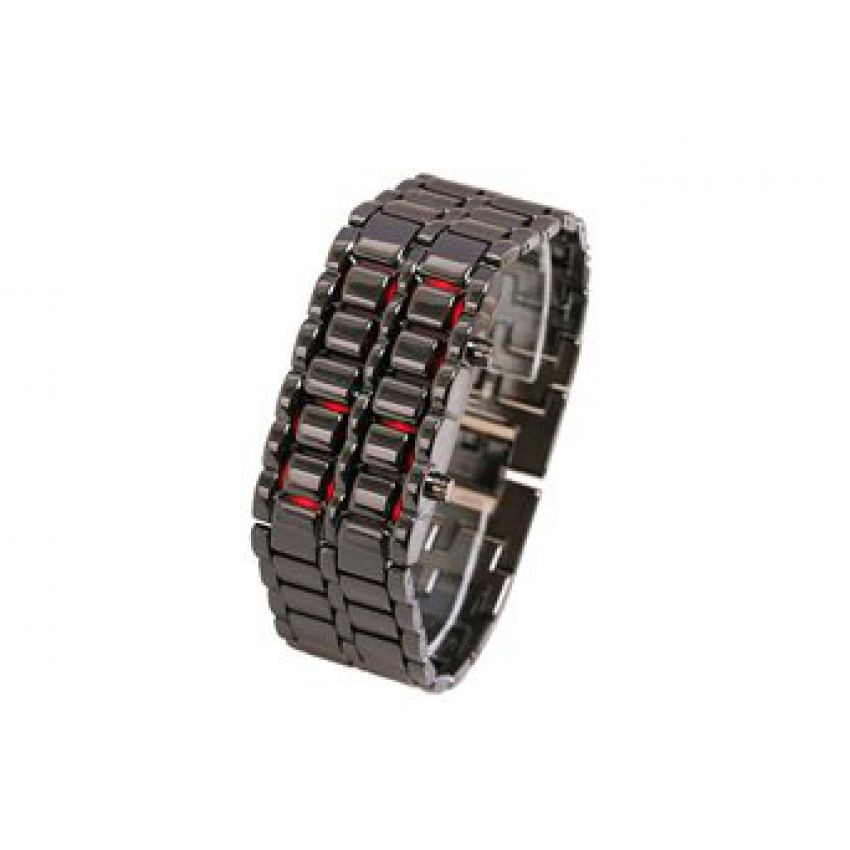 LED Lava Watch With Bright Red LED Bracelet large 2