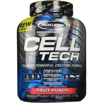 Cell tech 5.95 LB supplement large 1