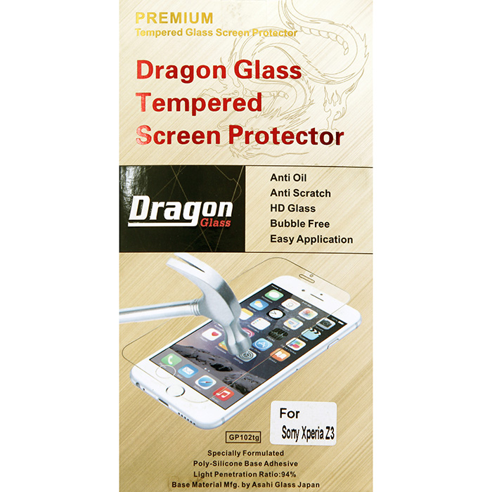 Tempered Glass for Sony Xperia Z3 HSPR1384 large 1