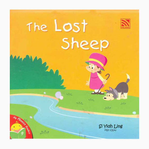 My Phonics Readers-9 The Lost Sheep J120029 large 1