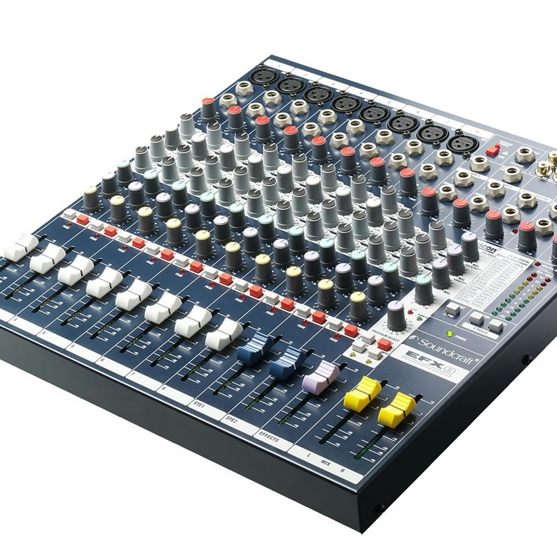 Soundcraft EFX8 - 8 Channel Mixing Console large 1