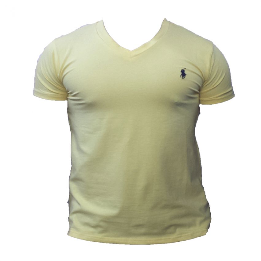 V Collar T Shirt