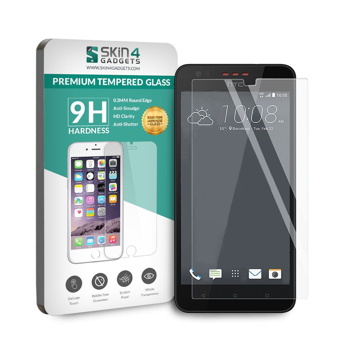 Tempered Glass for HTC 630