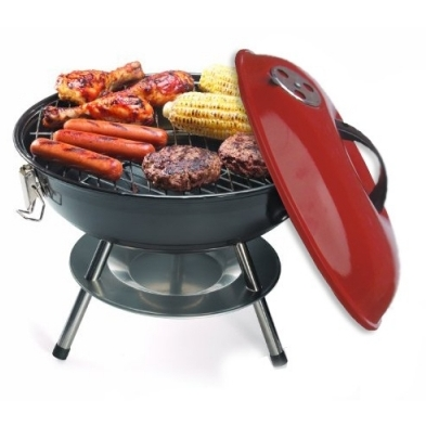 Size 14 Portable Charcoal Barbecue Unit large 1