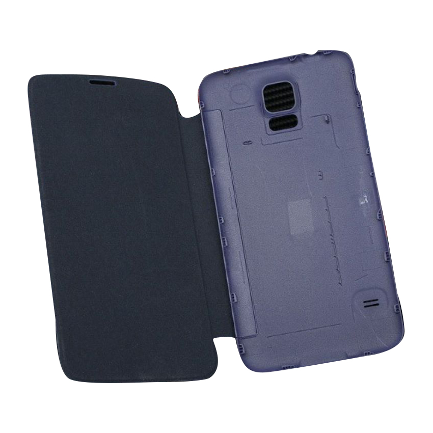 Samsung Galaxy S5 S 5 SV I9600 9600 Flip Leather Back Cover Case large 3