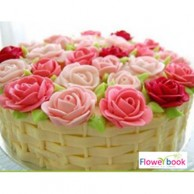 BASKET OF ROSES 1KG CK008