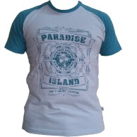 Paradise Raglan - Sea green / Turq