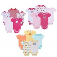 Pack of 3 Baby Rompers