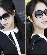Women Fashion Designer Latest Sunglasses UV 400 Black
