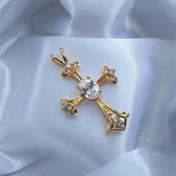 Beautiful Holy Cross Pendant AJP05