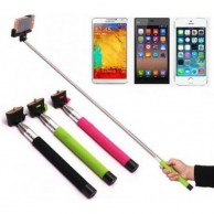 Monopod Wired Cable Selfie Stick