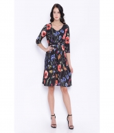 KIA PRINTED TEA DRESS AVDR103787