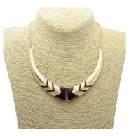 Gold Plated Collar Necklace for Women