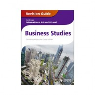 Cambridge International AS & A Level Business Studies Revision Guide B160231