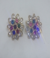 Women Flower Designs Earring
