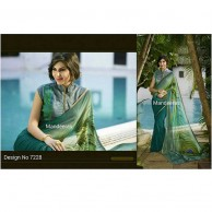 PARTY & WEDDING WEAR SAREE DESIGN 7228