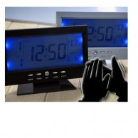 LCD Alarm Clock with Voice Control..