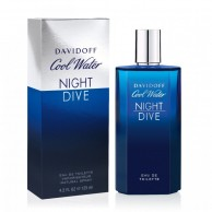 Davidoff Cool Water Night Dive Men's Eau De Toilette 125ml