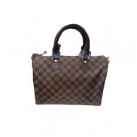 Louis Vuitton Womens Brown check Handbag