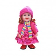 Dancing Doll Pink with Beanie