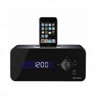 John Lewis stylish black Carbon DAB Radio iPod Dock