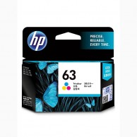 HP 63 Tri-color Original Ink Cartridge C6U61AA