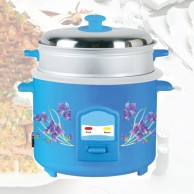 Deluxe Rice Cooker With Steamer 1 8L