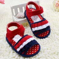 Red Sandal for Baby Girl