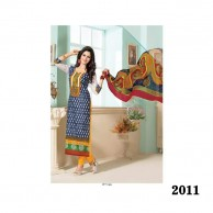 Sparkle Dark Ocean Salwar SP11