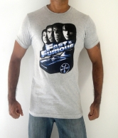 Fast & Furious Men's T-Shirt Grey