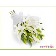 White tiger lilly flower sheaf SM002