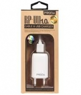 Remax Proda USB Charger RP U21with iphone cable