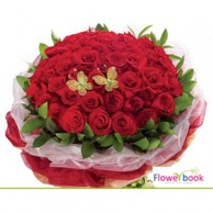 50 Red Roses Bunch RM025
