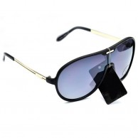 Black Shaded Mens Sunglasses With Pouch