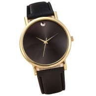 Womens Black Dial Analog Watch