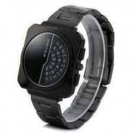 Men's PAIDU Half Frame Black Watch