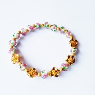 Mini Flowers Stretch Bracelet EZBR070