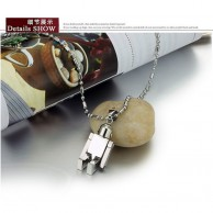 Men Stainless Steel Robo Necklace