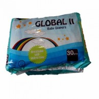 Global II Baby Diapers Large 30 pcs