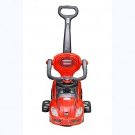 Kids Baby Land Red Pushing Car 13000157