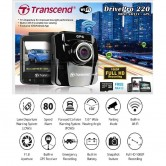 transcend dp220 car video recorder